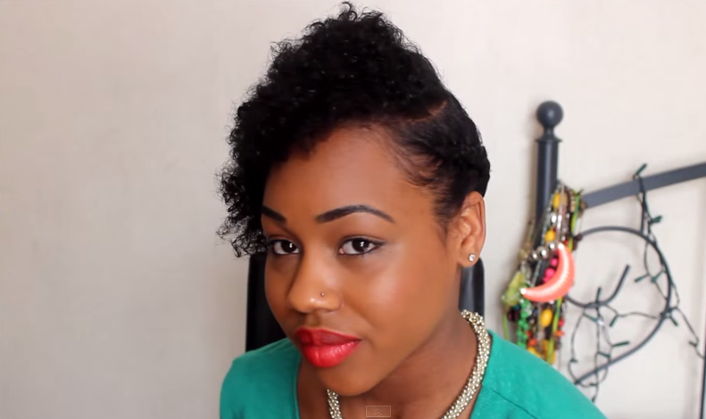 3 Quick & Easy Wash And Go On Natural Short Hair Styles