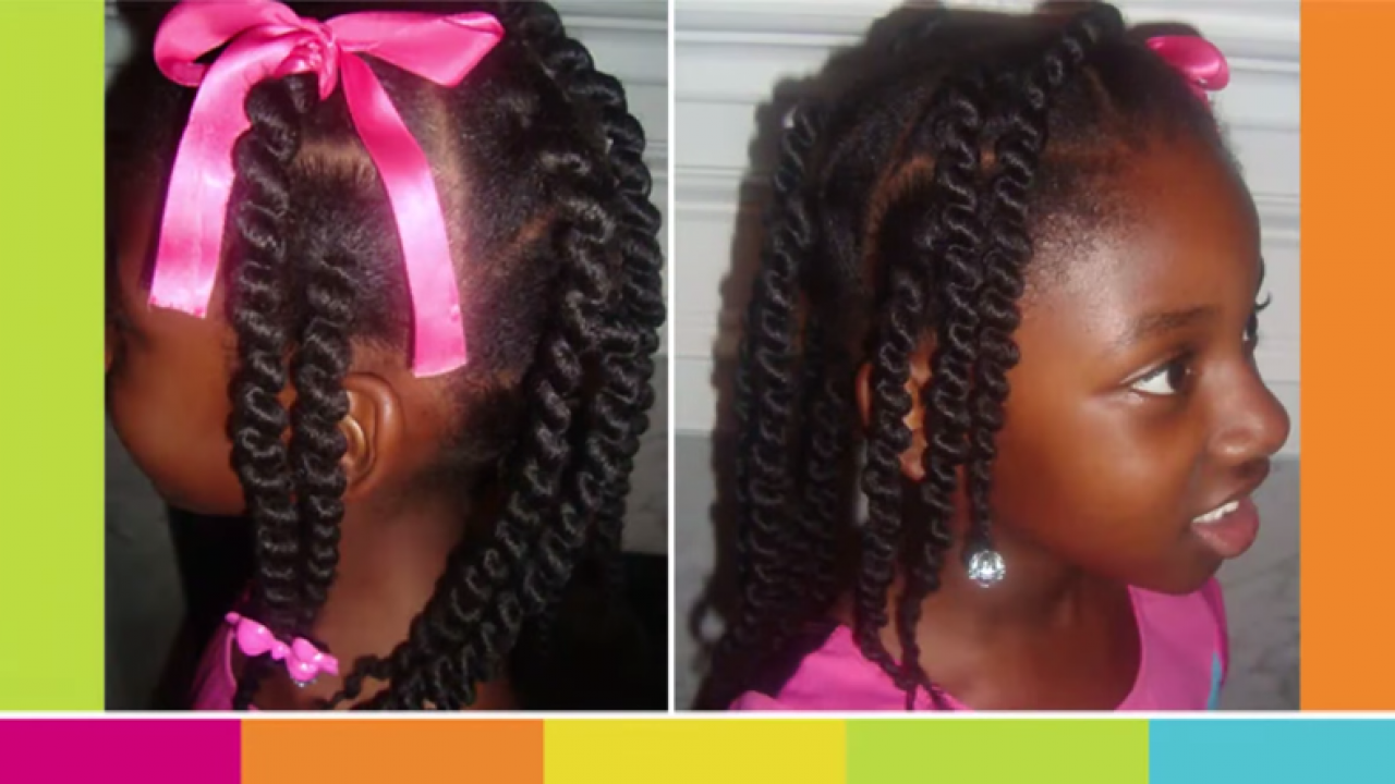 African Box Braids Styles For Kids