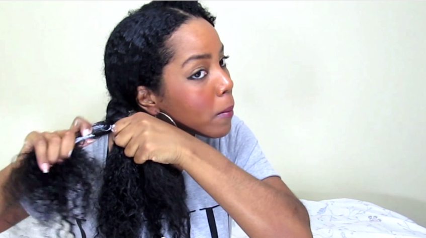Braid Out On Natural Hair