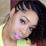 Flat-Twist Summer Hairstyle