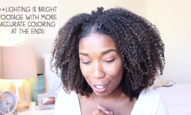 Natural Hair Talk Deva Cut And What Happen After Balayage Dyeing Technique