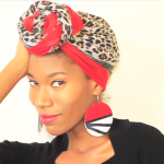 Head Scarf-Top Knot Turban