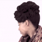 Updo Natural Hair
