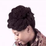 Updo for Short Medium Marley Hair