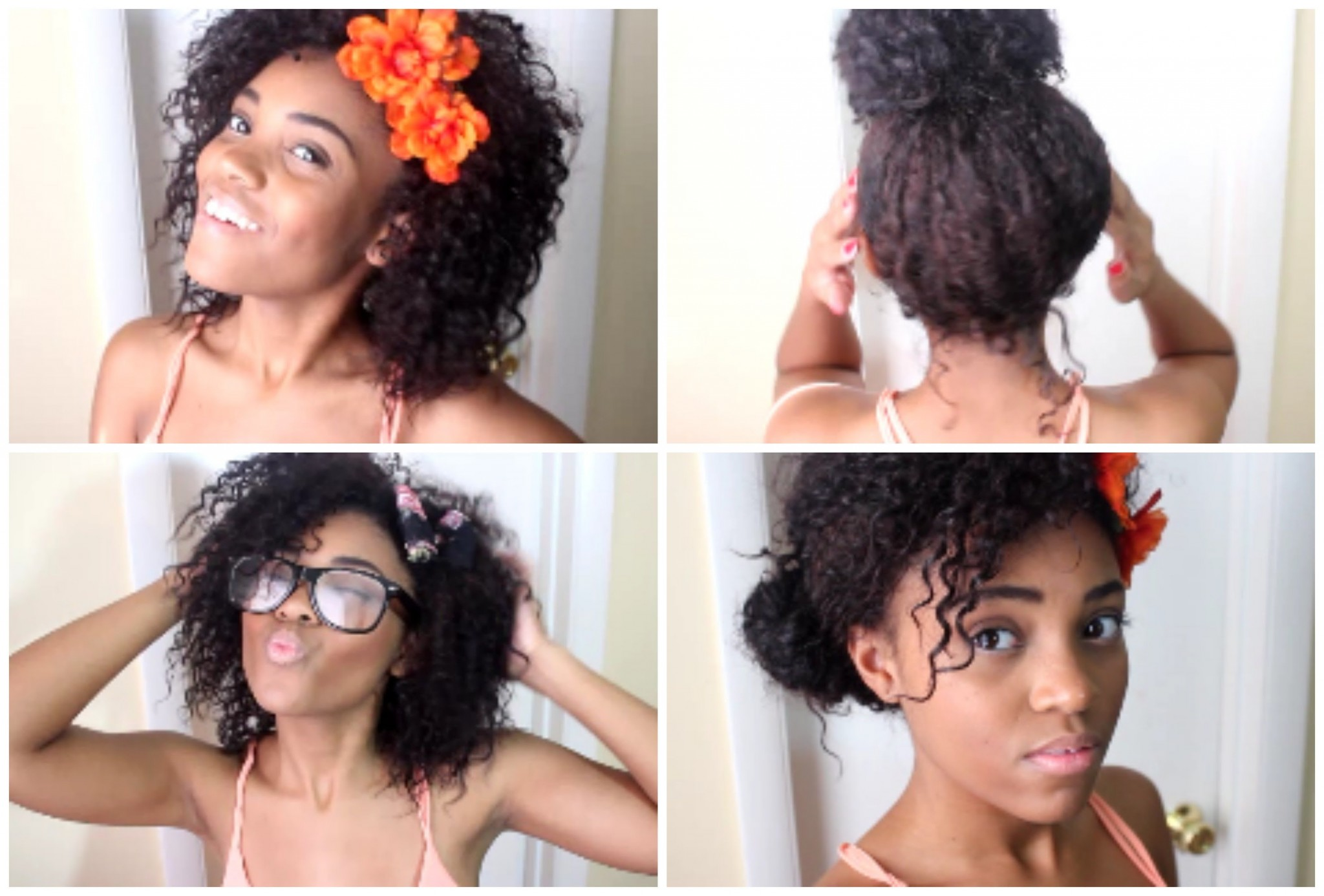 Admirable Black Women Natural Hair Styles A A H V Curly Hair Care Tip Hairstyle Inspiration Daily Dogsangcom