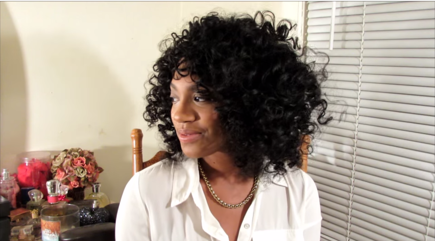 Bantu Knot out on Natural Hair Wet