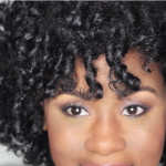 Flexi Rod Set on Natural Hair