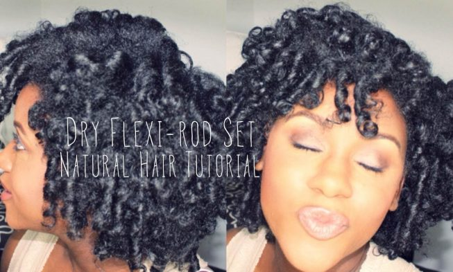 Super Get Soft Bouncy Curls Using Dry Flexi Rod Set On Natural Hair Natural Hairstyles Runnerswayorg