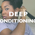 Deep Conditioning Natural Hair