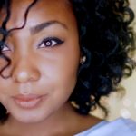 Perfect Smooth Sleek Bantu Knot Out on Natural Hair