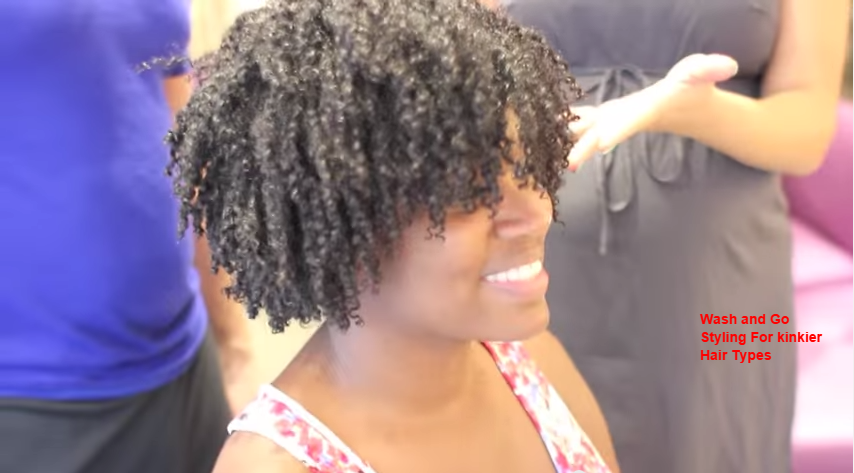 Wash Go Styling for Kinkier Hair Types