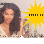 Twist Out for Curly Hair