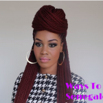 Ways Style Senegalese Twists