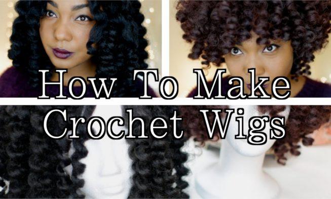 Diy Crochet Wigs On Netted Cap With Marley Cuban Twist Hair