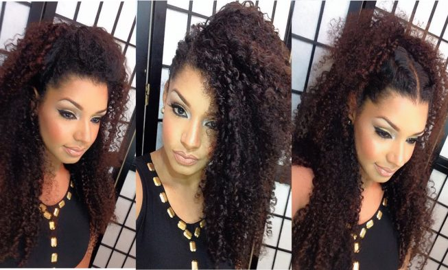 Christmas Hairstyles For Long Hair.4 Fancy Christmas Hairstyle Ideas For Long Curly Hair