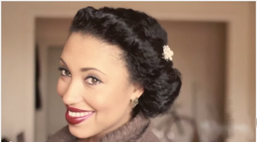 3 Easy Steps To A Low Chignon For Any Special Events