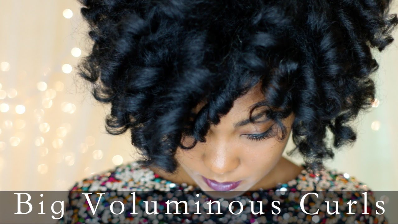 Voluminous Curls Natural Hair