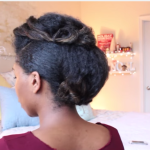 Faux Hawk Updo Formal Wedding