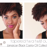 Tapered TWA Twist Out on natural hair