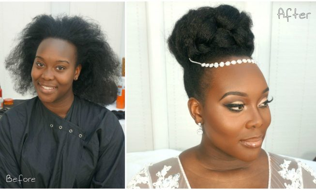 This Gorgeous Bridal Natural Hairstyle Video Tutorial Is Perfect For