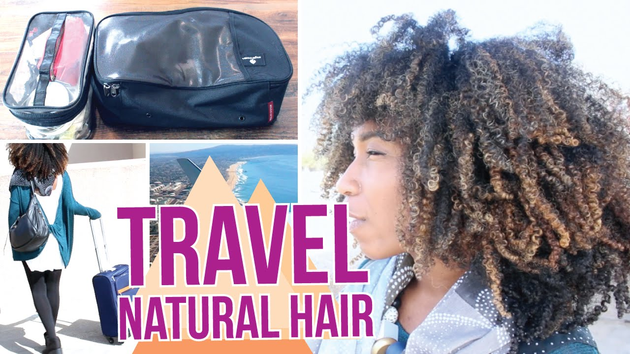 travel size natural hair products