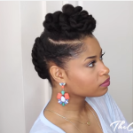 TWISTED UPDO Hair