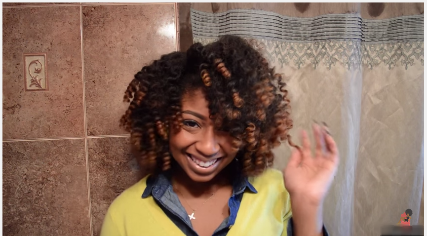 Shirley Temple Curls On Natural Hair