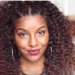Cornrow Braid Natural Hair Defined Curls