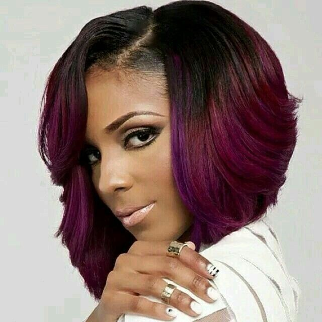 Tremendous Quick Weave Bob Hairstyles Best Hairstyles 2017 Hairstyle Inspiration Daily Dogsangcom