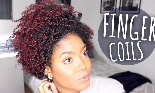 Hairstyles Fiinger Coils On Natural Hair