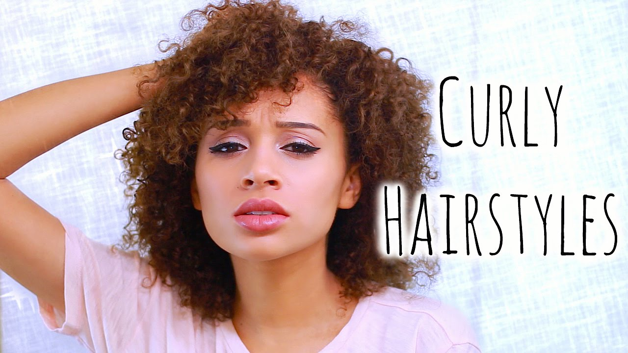 5 Easy Curly Hairstyles For School The Cutest Looking ...