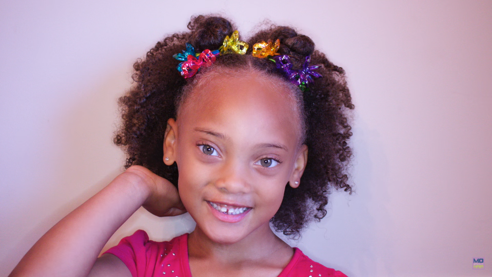 Back To School Natural Curls With Ors Shealicious That