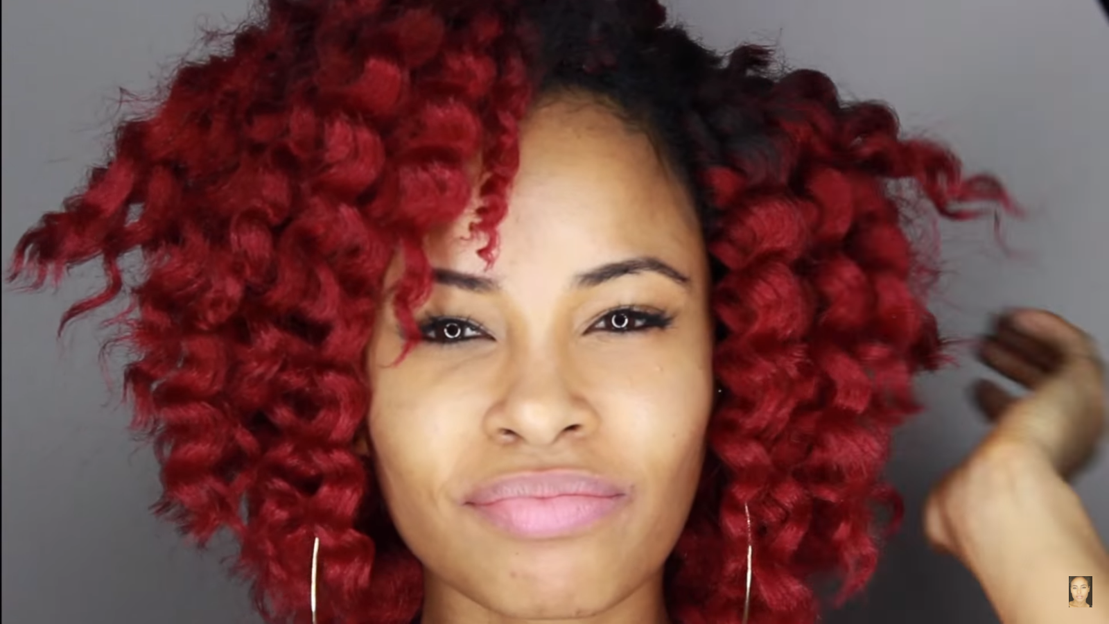 Crochet Hair You Can Swim In : ... crochet braids. The hair that was used for the tutorial is Marley hair
