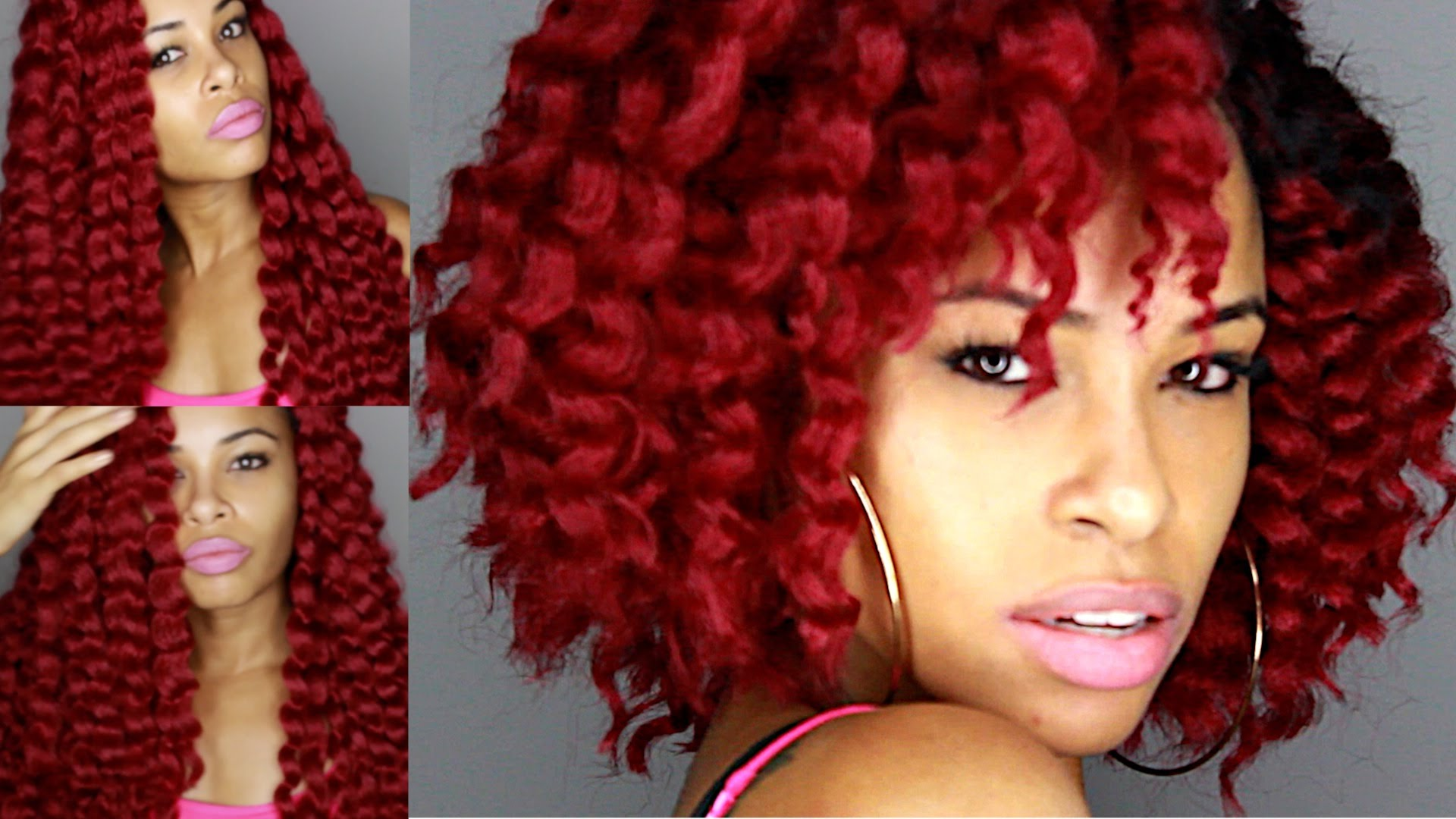 Crochet Red Hairstyles : Absolutely Gorgeous Crochet Braid Bob Styles For Your Hair Wish List ...