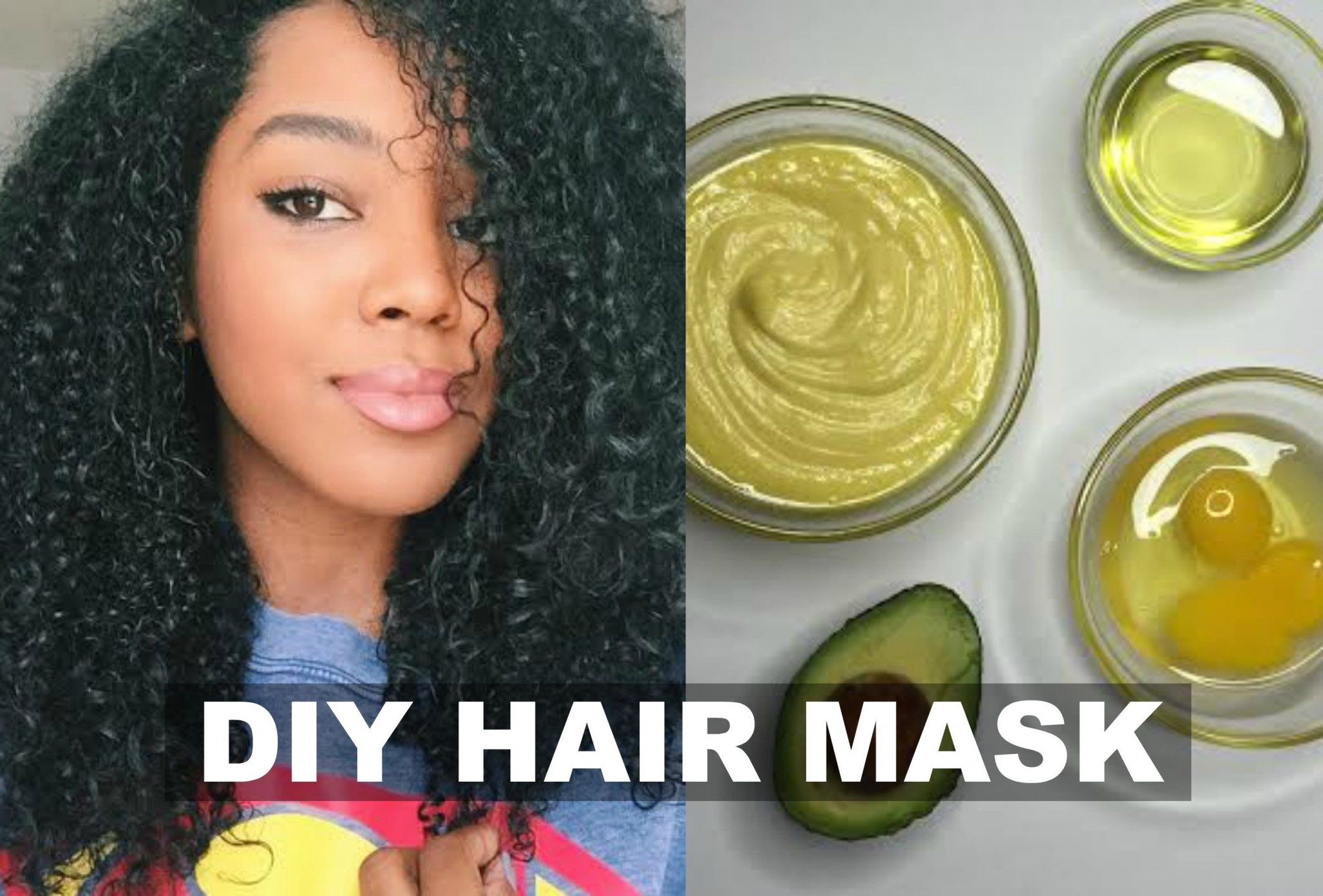 diy hair mask with organic mayo and avocado for natural hair conditioning strength growth. Black Bedroom Furniture Sets. Home Design Ideas