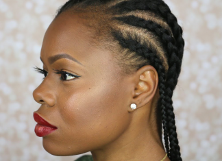 How to cornrow your natural hair