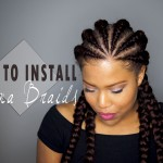 How to do Ghana braids