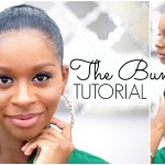Natural Hair Bun Tutorial