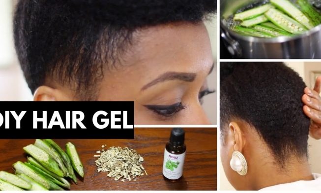 Easiest Way To Make Okra Hair Gel For Kinky Curly Hair That You