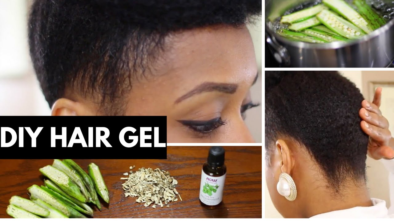 Easiest Way To Make Okra Hair Gel For Kinky Curly Hair