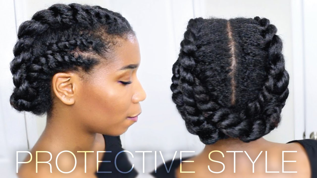These 2 Protective Natural Hairstyles Prove That Versatile Hairstyles Are Uniquely Awesome
