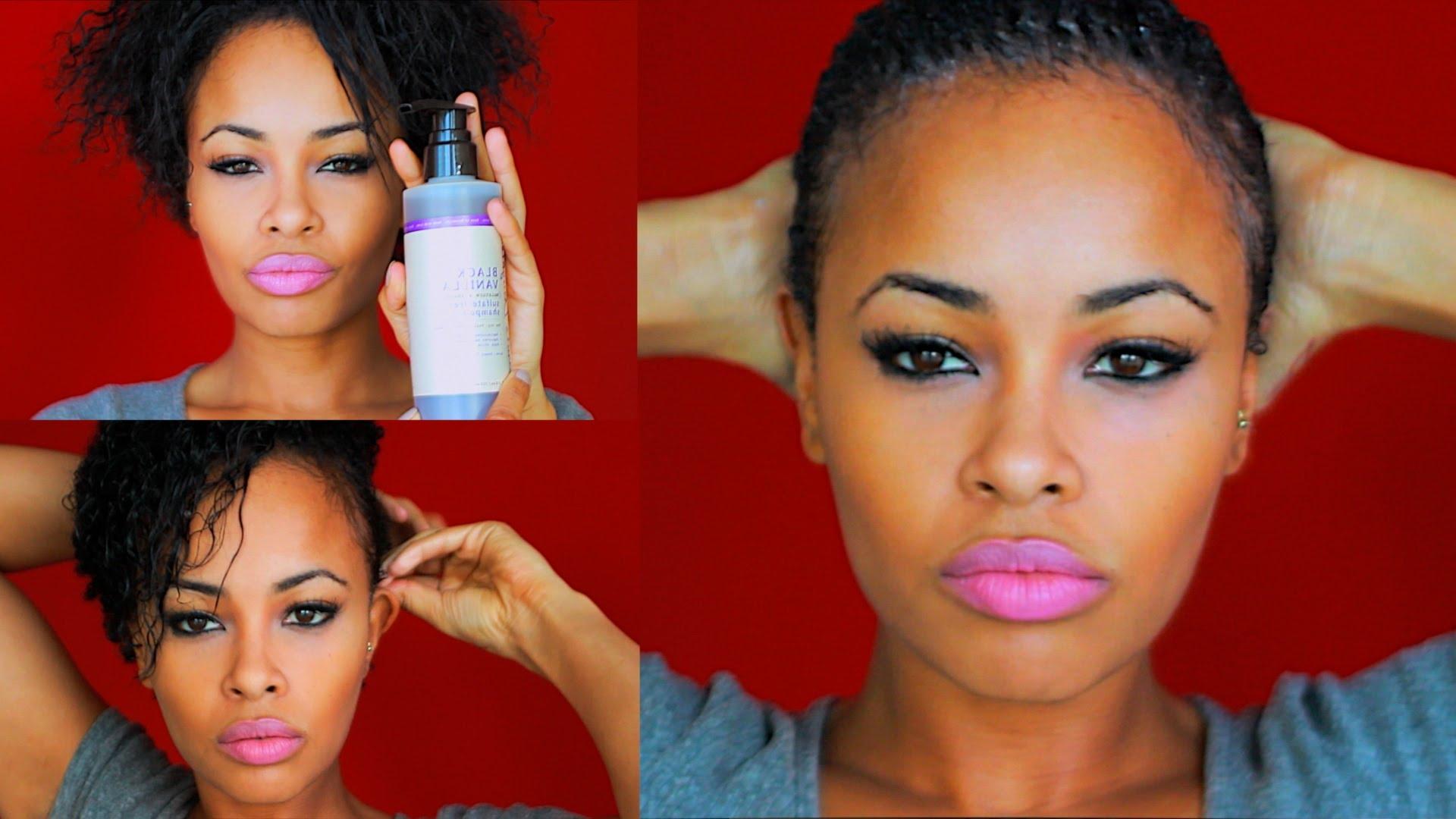African American Short Natural Hair Care
