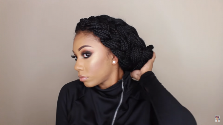ways to style american hair 12 absolutely gorgeous ways to style your box braids for 3290