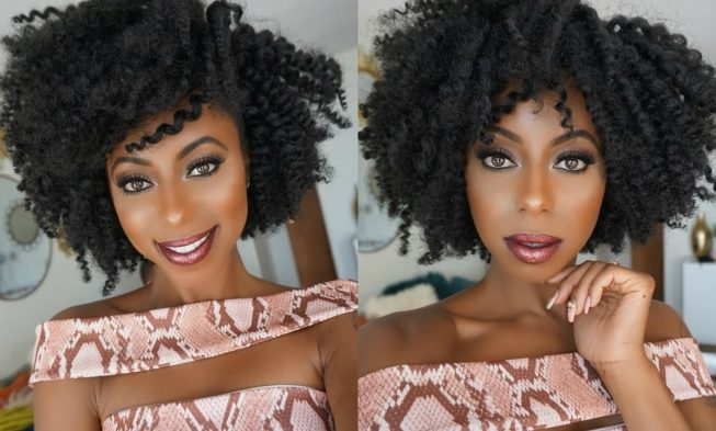 Fall In Love With This Gorgeous Twist Out Using Crochet Braids