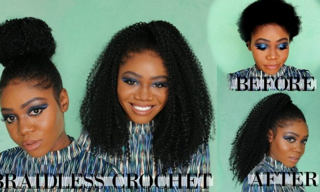 Ladies Check Out These 4 Braid Less Crochet Hairstyles For Your