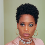 bantu knot on tapered hair