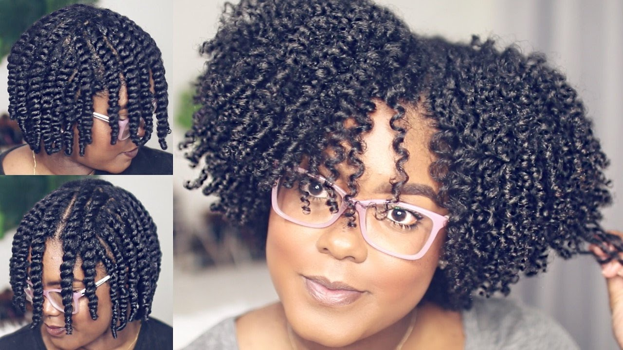 A Fresh Look At How Mini Marley Updated A Flat Twist Out