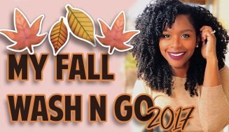 The 2017's Updated Wash-N-Go Video With Jess Is Out And Seriously Great For The Fall