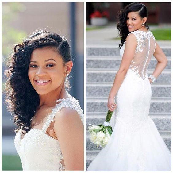 Black Women Wedding Hair Style: It's That Time Again -- 20 Best African American Wedding