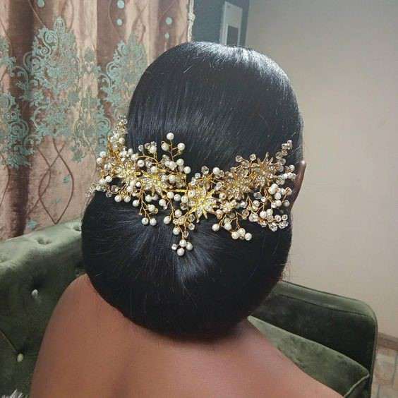 Hairstyles For Weddings Bridesmaid African American: It's That Time Again -- 20 Best African American Wedding